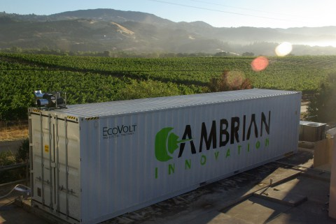 Repurposed Shipping Containers Help Brewery Save Energy