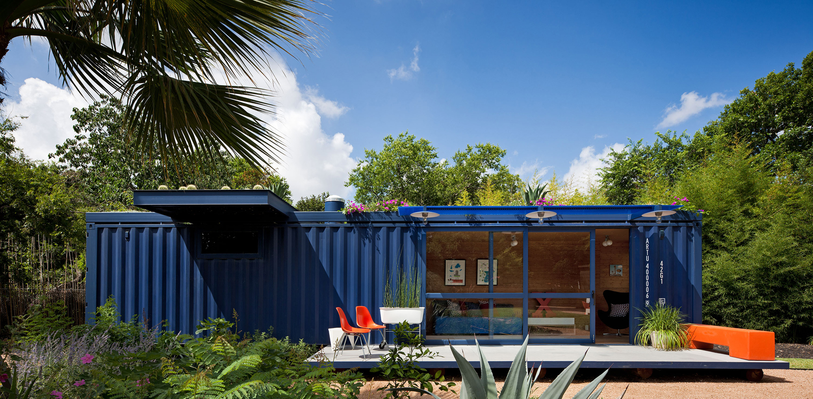 a living work of shipping container art - buy a shipping container
