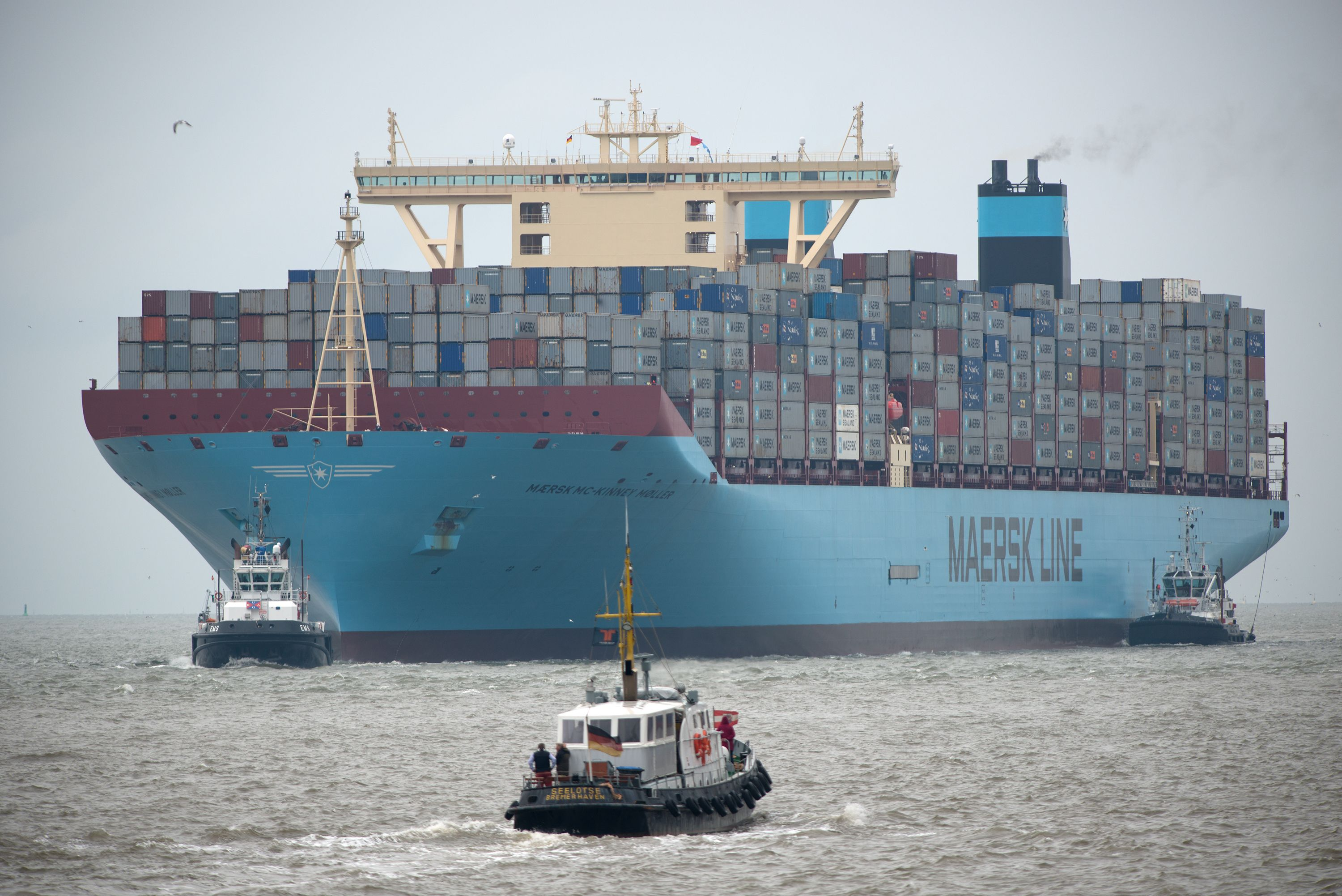 The Largest Container Ship in the World (for now) - Buy a ...