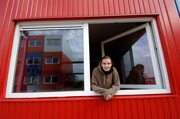 Affordable Shipping Container Housing in Amsterdan