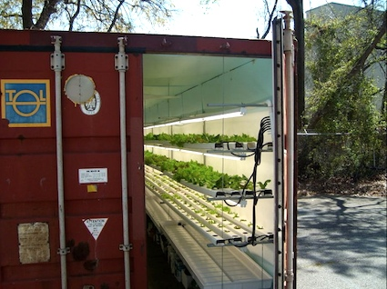 Portable Shipping Container Greenhouses