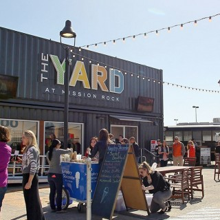 The Giants Repurpose Shipping Containers Into The Yard