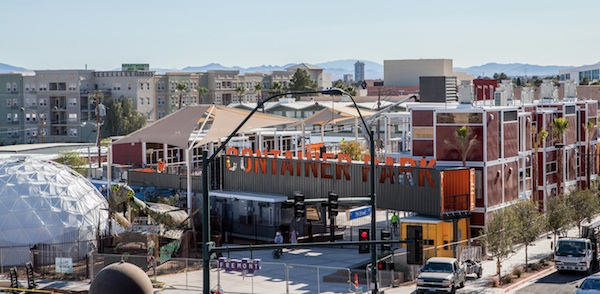 Downtown las vegas shipping container park - Container homes las vegas ...