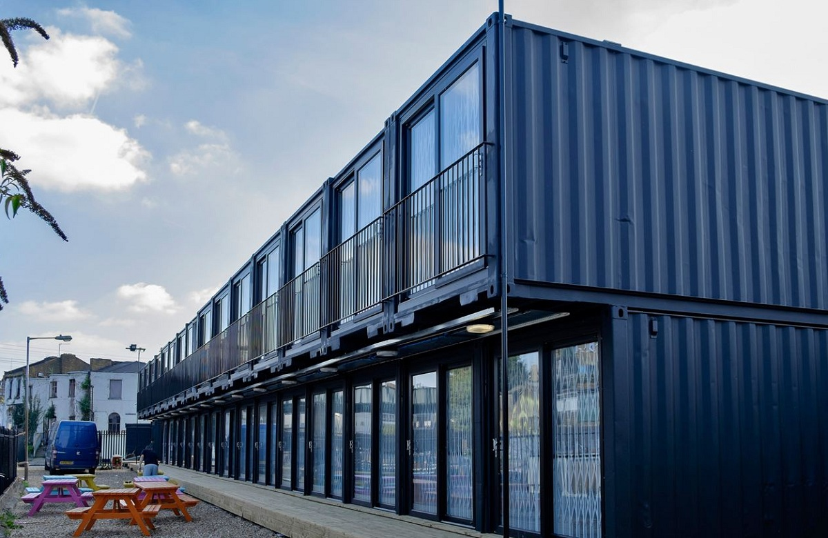 Meet ContainerVille Londons Shipping Container Office