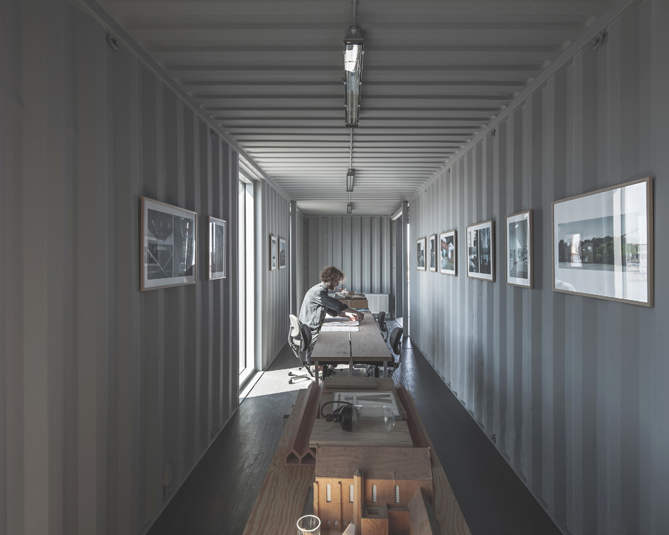 Pop Up Shipping Container Offices