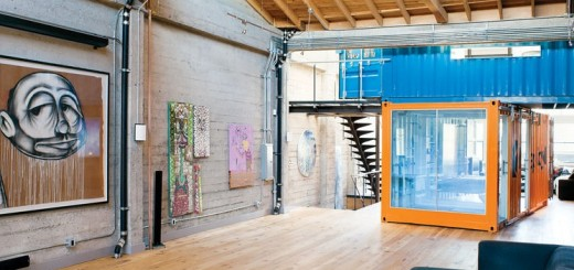 A Container Home In San Francisco