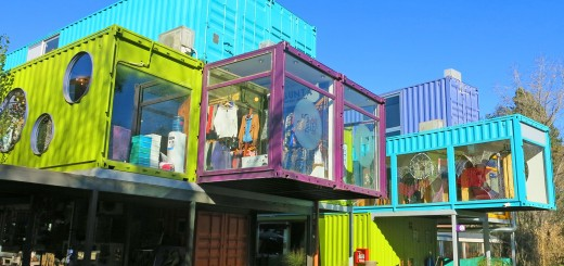 The QUO Shipping Container Mall In Buenos Aires