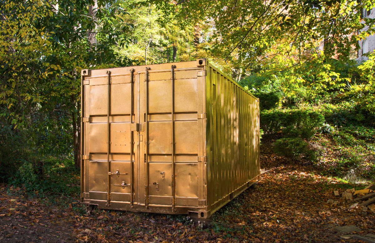 Step Inside A Shipping Container Portal