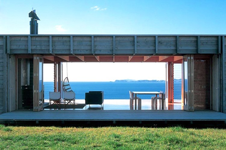Commercial and residential shipping container projects for Beach house builders new zealand