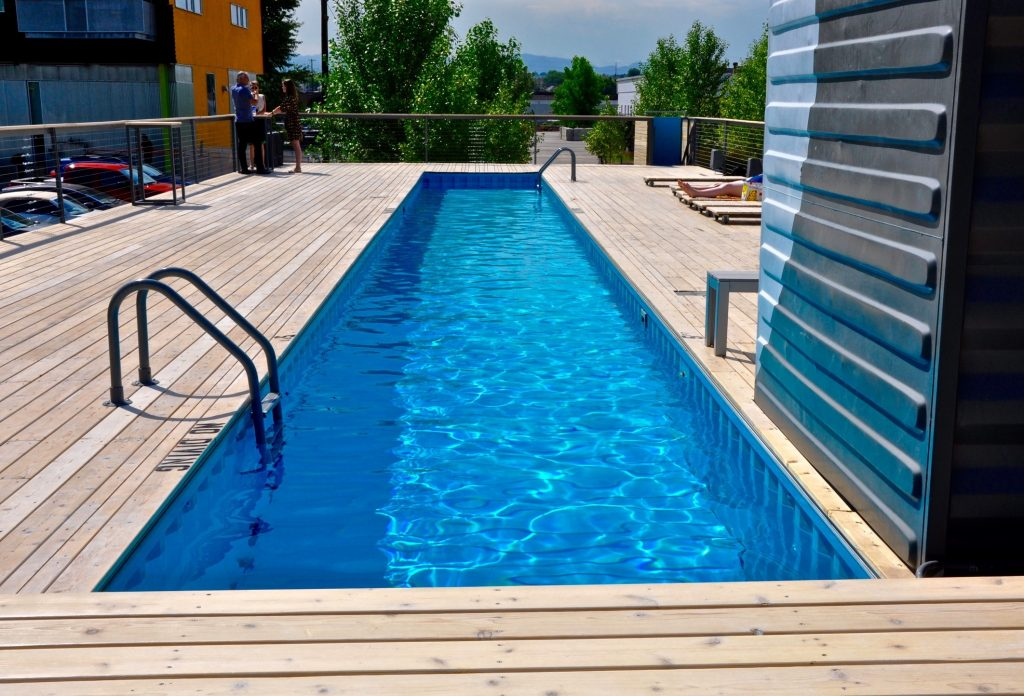 The diy shipping container swimming pool buy a shipping for Buy swimming pool