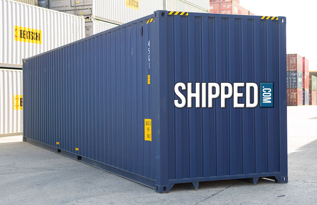 New Used Shipping Containers For Sale At Shipped Com >> Details About Best Price New 40ft High Cube Intermodal Shipping Container We Deliver Tampa Fl