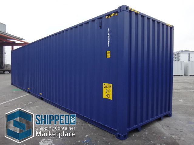 New Used Shipping Containers For Sale At Shipped Com >> Details About New 40 Ft High Cube Shipping Container Home Storage We Deliver In Chicago Il