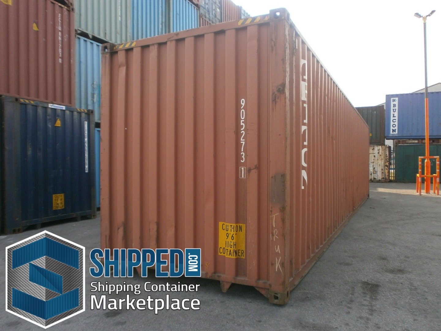 ITEM SPECIFICS: This listing is for one certified CSC plated 40 foot High  Cube Shipping Container is located in Miami, Florida. All components, such  as the ...