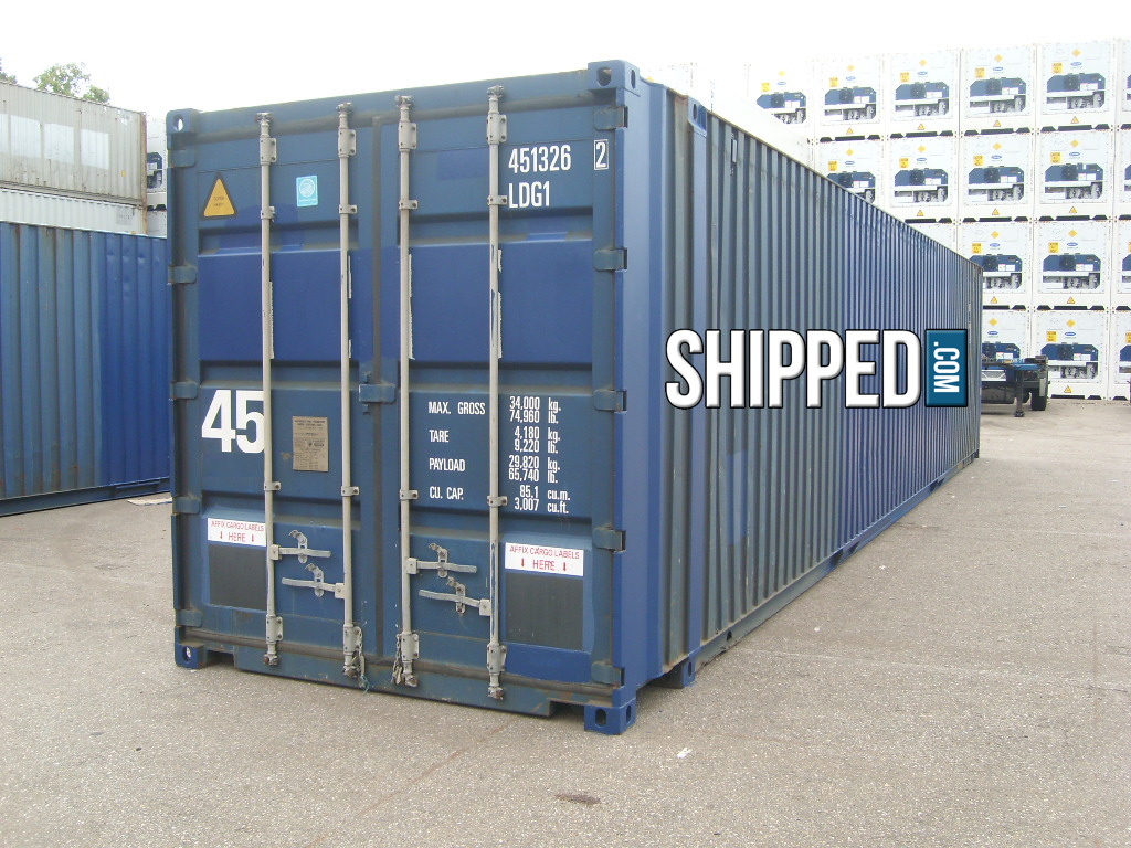 Huge 45ft high cube cargo worthy intermodal shipping container we deliver in ca ebay - Intermodal container homes ...