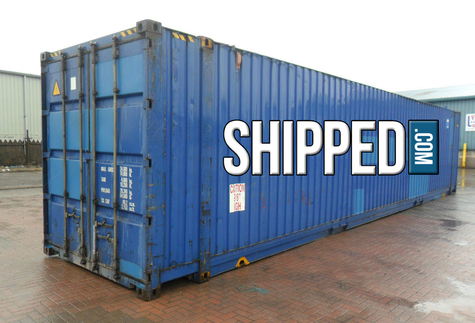 45ft giant high cube cargo worthy intermodal shipping container in columbus ohio ebay - Intermodal container homes ...