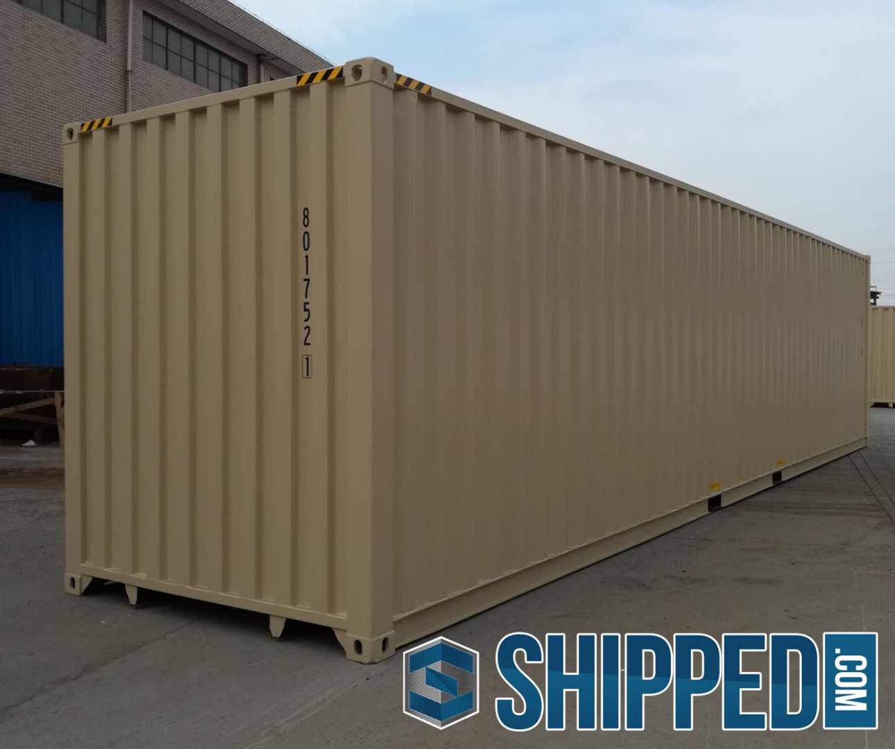 ON SALE NOW: 40FT NEW ONE TRIP HIGH CUBE STEEL SHIPPING