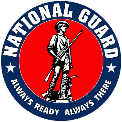 US National Guard circle logo