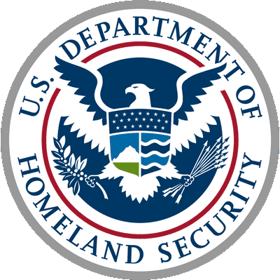 US Department of Homeland Security circular logo
