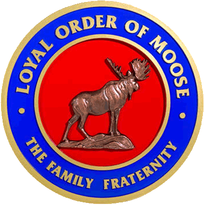 The Loyal Order of Moose Family Fraternity cicle logo