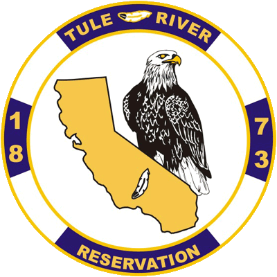 Tule River Indian Reservation circle logo