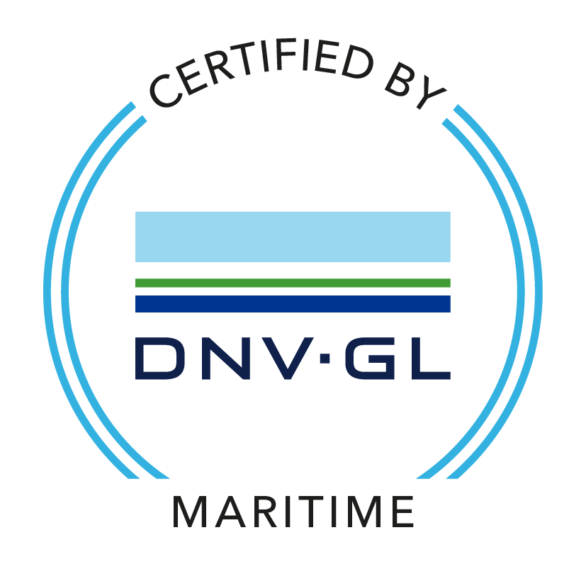 GNV / GL certification logo for new build conex containers