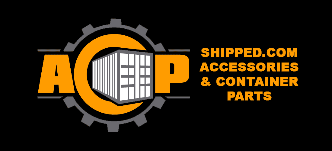 container parts and accessories logo