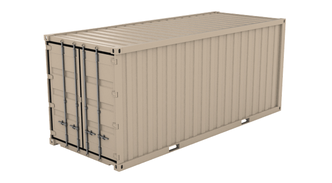 20' Double Doors (8'6inches High) shipping container icon