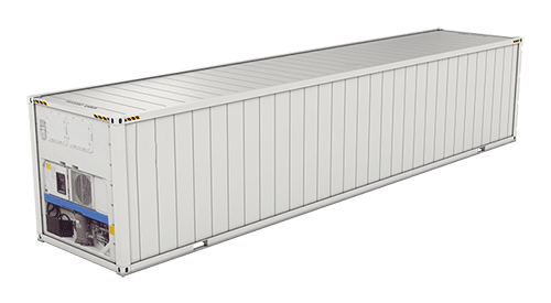 40' High Cube Refrigerated shipping container icon
