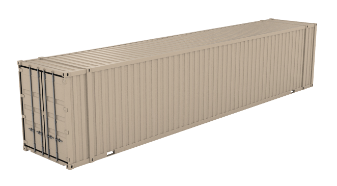 45' High Cube (9'6inches High) shipping container icon
