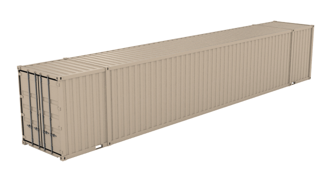 53' High Cube (9'6inches High) shipping container icon