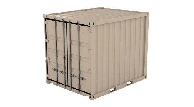 Under 20' (5', 8' 10' etc) shipping container icon