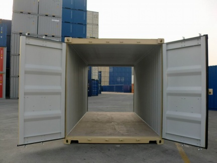 20' HC DD shipping container in New (One-Trip) condition #3
