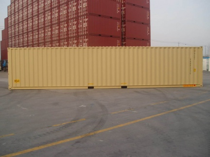 40' Double Door shipping container in New (One-Trip) condition #2