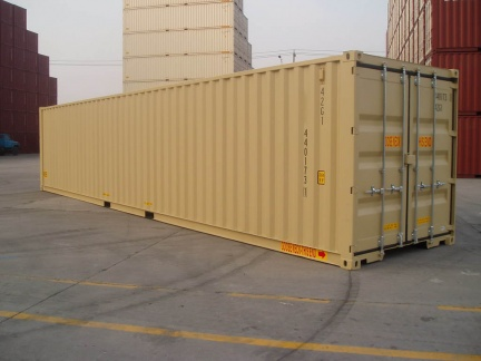 40' HC DD shipping container in New (One-Trip) condition #1
