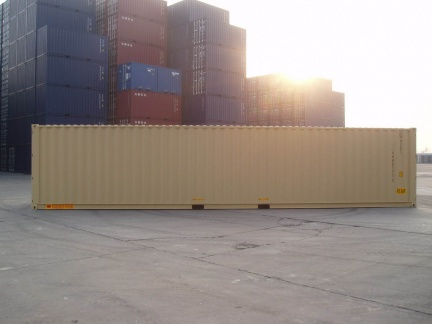 40' HC DD shipping container in New (One-Trip) condition #2