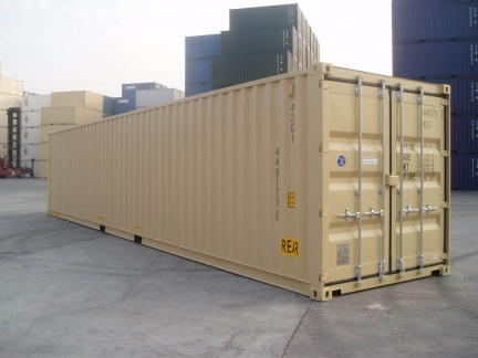 40' Double Door shipping container in New (One-Trip) condition #1