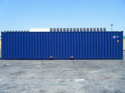 40' High Cube shipping container in New (One-Trip) condition #2