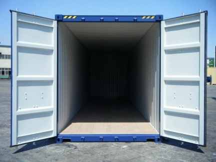 40' High Cube shipping container in New (One-Trip) condition #3