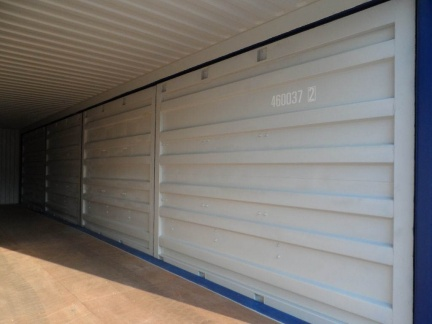 40' Open Side  shipping container in New (One-Trip) condition #2