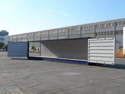 40' Open Side  shipping container in New (One-Trip) condition #3