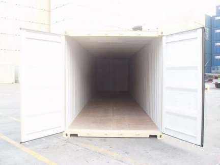 40' Standard shipping container in New (One-Trip) condition #3