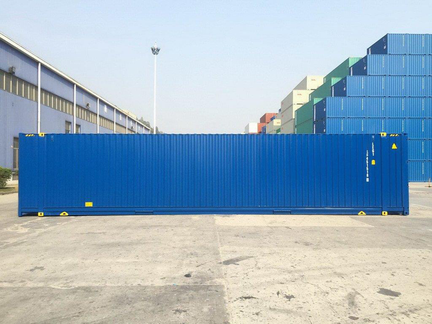 45' High Cube shipping container in New (One-Trip) condition #2