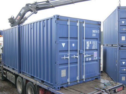 Small (5/8/10) shipping container in New (One-Trip) condition #3