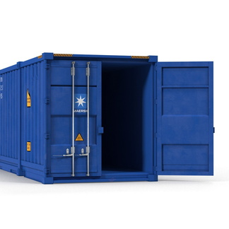 53' High Cube shipping container in New (One-Trip) condition #3