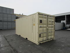 20' Standard shipping container in New (One-Trip) condition #3
