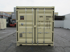 20' Standard shipping container in New (One-Trip) condition #1