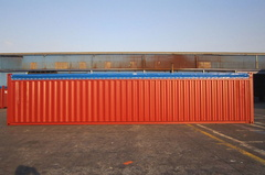 40' Open Top  shipping container in New (One-Trip) condition #2