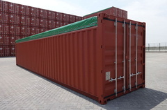 40' Open Top  shipping container in New (One-Trip) condition #1