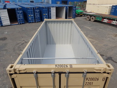 40' HC Open Top  shipping container in New (One-Trip) condition #1