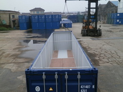 40' HC Open Top  shipping container in New (One-Trip) condition #3
